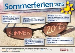 Sommerferienangebote